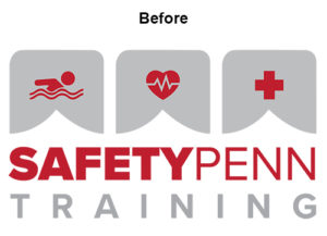Safety Penn Training Logo before ATC Web Solutions tweaked it