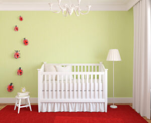 Photo of Baby's bedroom painted by innovation painting