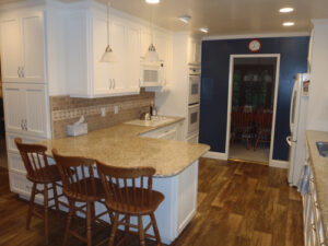 Example of a kitchen painted by Innovation Painting