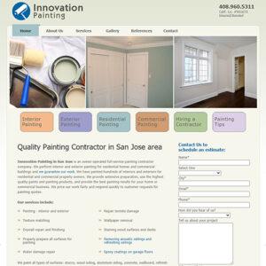 Innovation PaintingSan Jose home page