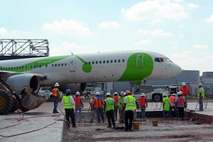 George Throop Company produces concrete for airports