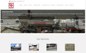Home page for the George L. Throop Company