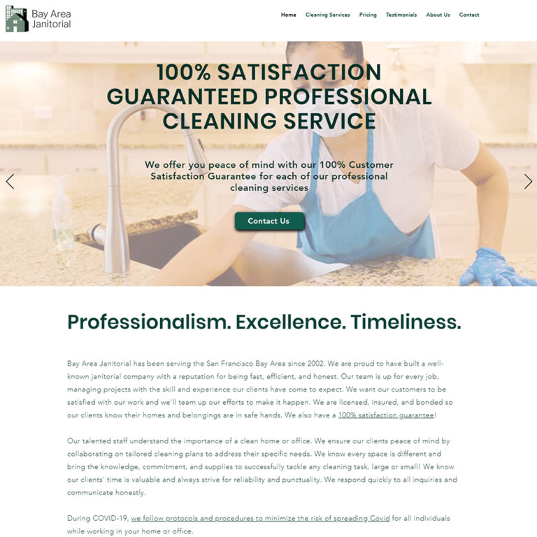 Bay Area Janitorial cleaning service in San Jose to Redwood City